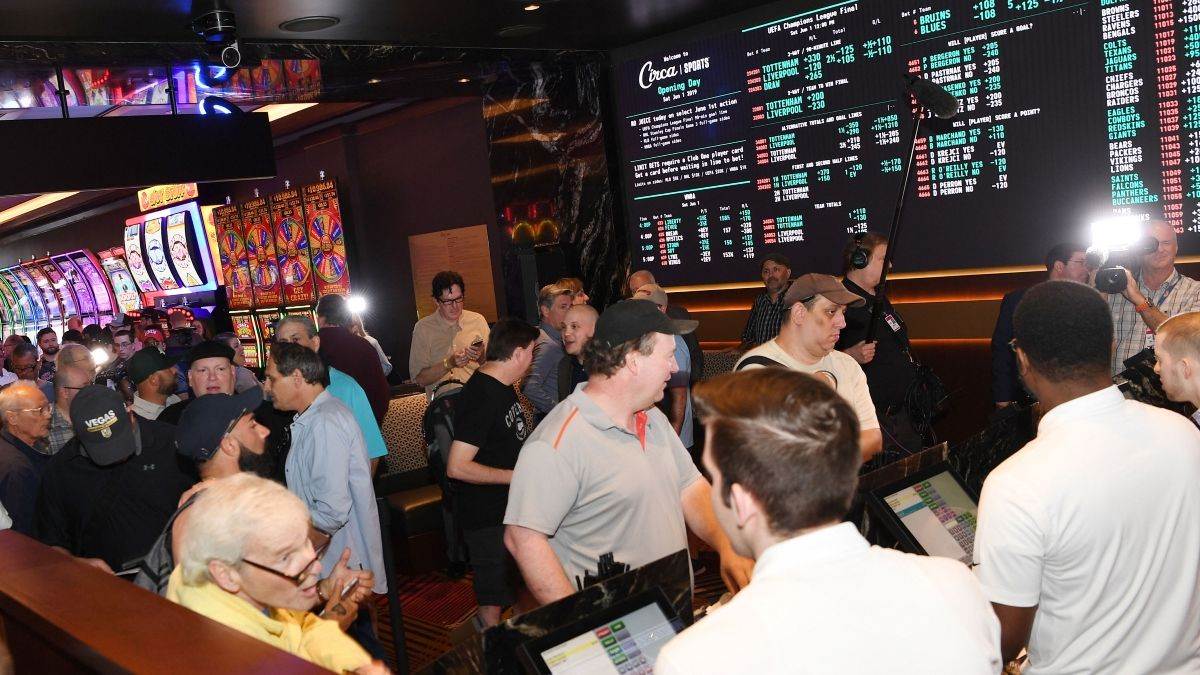 nevada supported new jersey sports betting