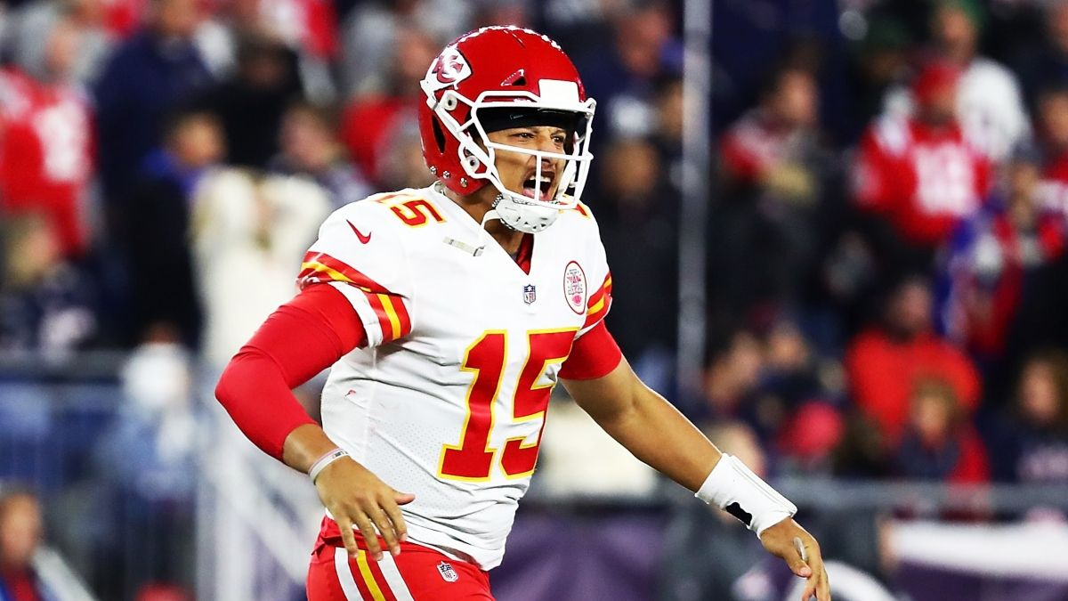 Koerner's Favorite Super Bowl Prop Bet: Patrick Mahomes' Rushing Yards article feature image