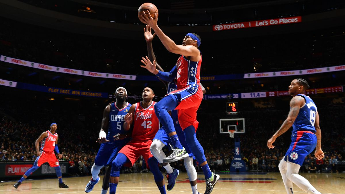 76ers vs. Clippers Betting Odds Picks & Predictions: Can Shorthanded Philly Cover Double-Digits on the Road? article feature image