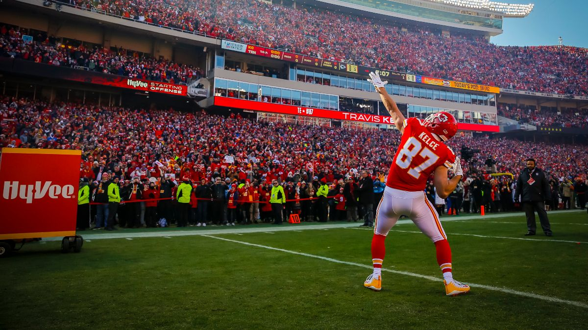 Travis Kelce Prop Bets, Odds & Picks for Super Bowl 54 article feature image