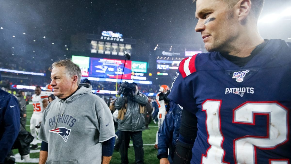 Patriots vs. Buccaneers Win Total Prop Bet: Which Team Will Have More Wins in 2020? article feature image