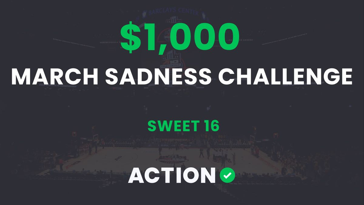 The $1,000 March Sadness Bracket Challenge: Sweet 16 Results article feature image