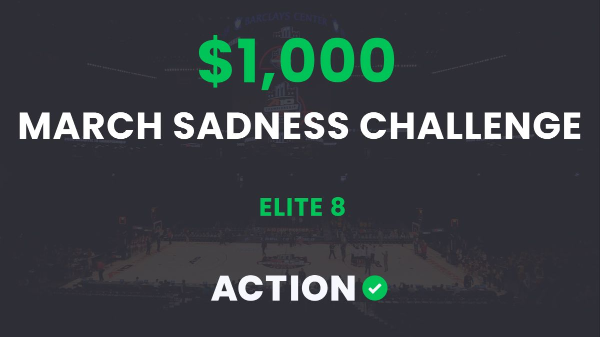 The $1,000 March Sadness Bracket Challenge: Elite 8 Results article feature image