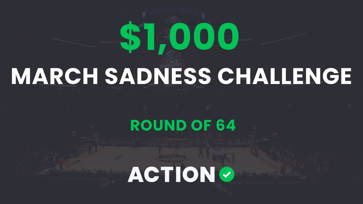 The $1,000 March Sadness Bracket Challenge: Round of 64 Results article feature image