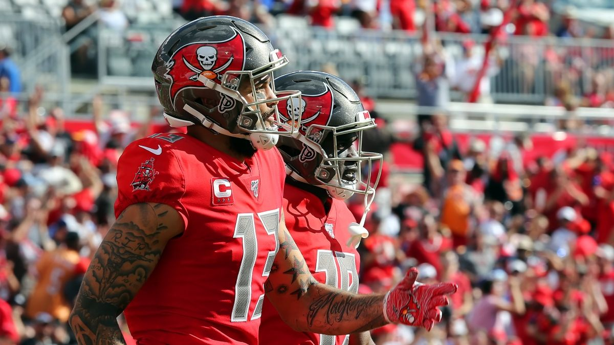 Why Mike Evans & Chris Godwin Can't Both Be Top-5 Fantasy WRs with Tom Brady article feature image