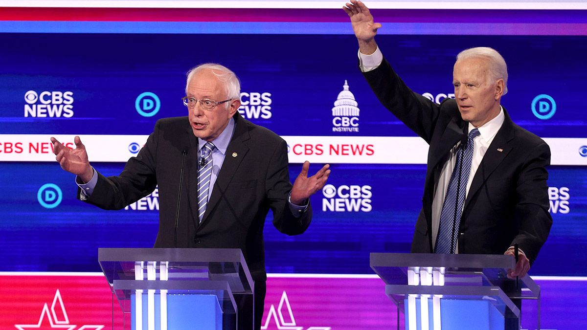 Democratic Debate Odds & Pool (Sunday, March 15): $10,000 in Prizes on the Line at DraftKings article feature image
