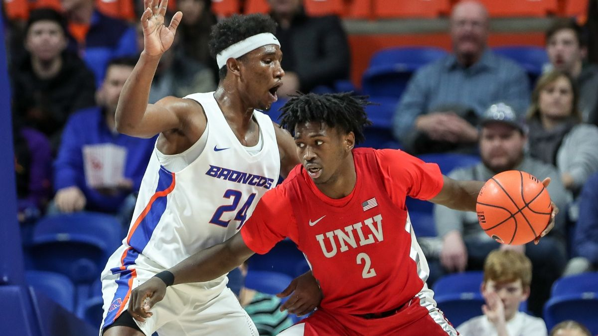 Thursday Mountain West Tournament Sharp Betting Picks: Boise State vs. UNLV, Air Force vs. San Diego State article feature image
