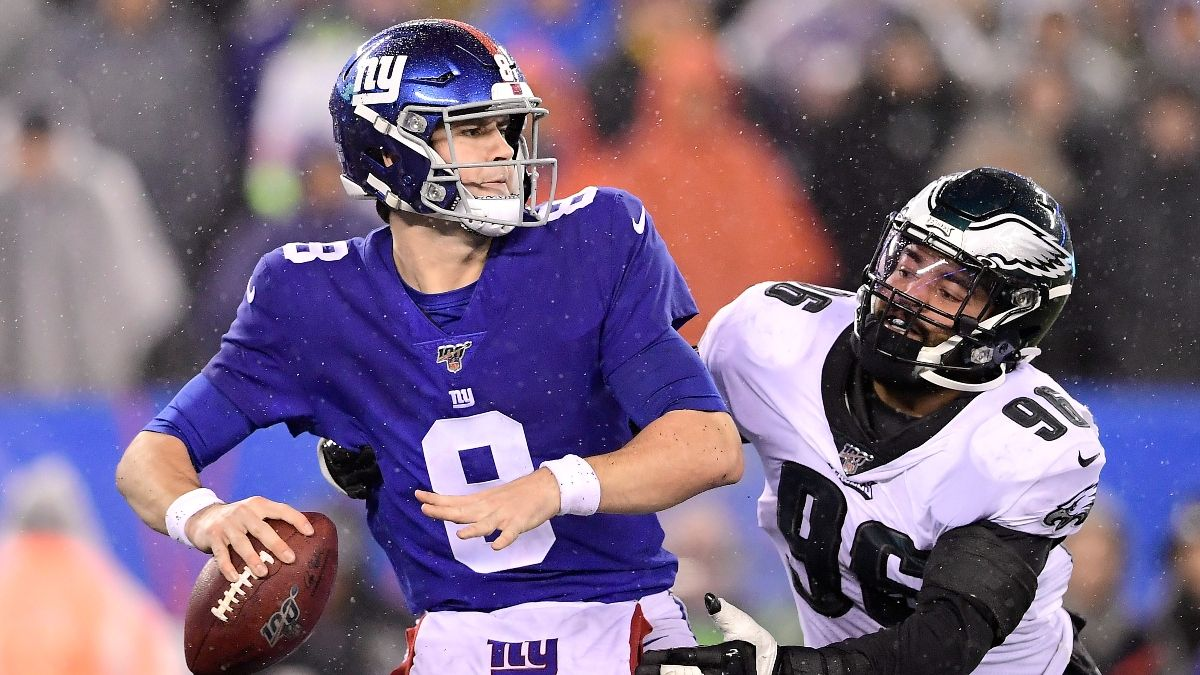 PointsBet Sportsbook Promo: Bet $20, Win $150 if Daniel Jones Throws for at Least 1 Yard! article feature image