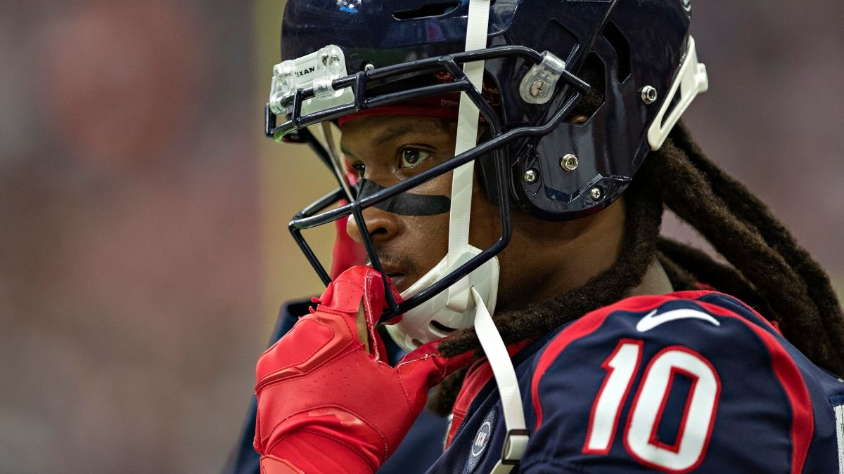 What DeAndre Hopkins Trade Means For His Fantasy Football Outlook, Kyler Murray & Cardinals WRs article feature image