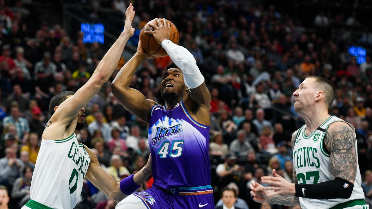 Jazz vs. Celtics Odds & Picks: Back Donovan Mitchell & Co. as Road Underdogs? article feature image