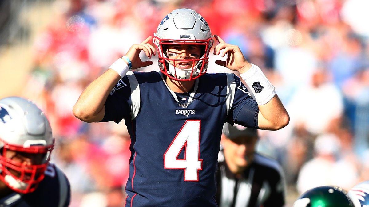 New England Patriots 2020 Quarterback Odds: Jarrett Stidham a Heavy Favorite to Start Week 1 article feature image