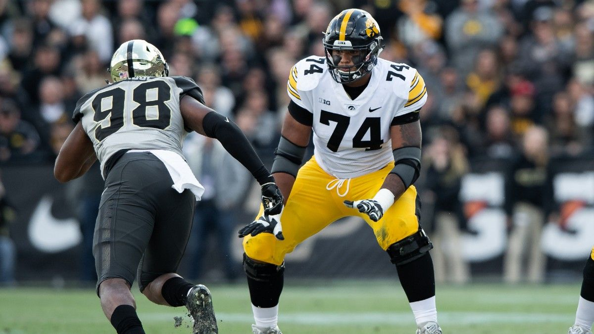 The 10 Offensive Line NFL Draft Props Worth Betting Thursday article feature image