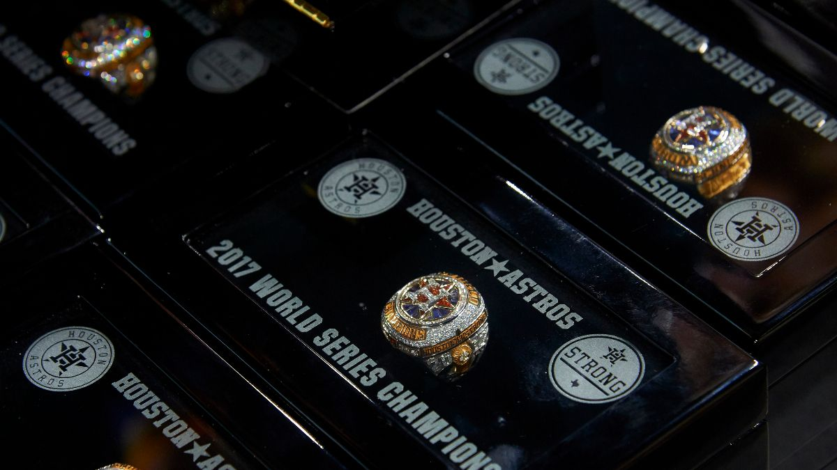 Astros Pull World Series Ring from Being Auctioned, Despite COVID-19 Relief Pledge article feature image