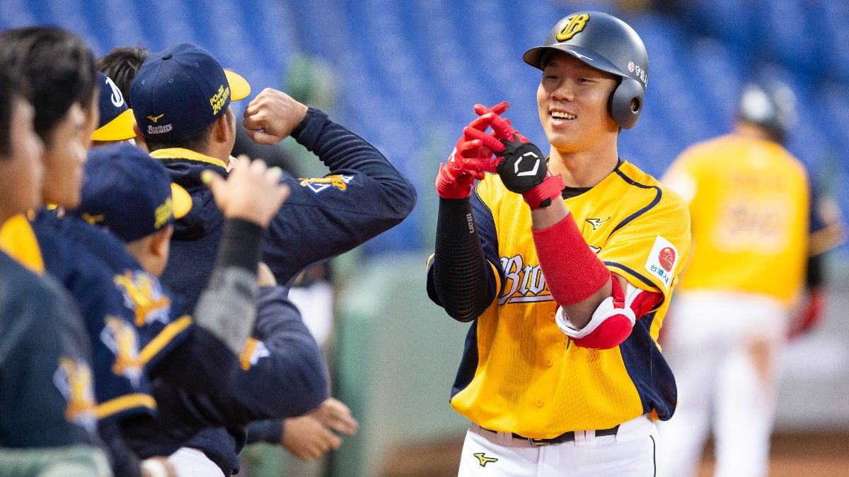 Zerillo's CPBL Betting Odds and Picks: Fubon Guardians vs. Chinatrust Brothers article feature image