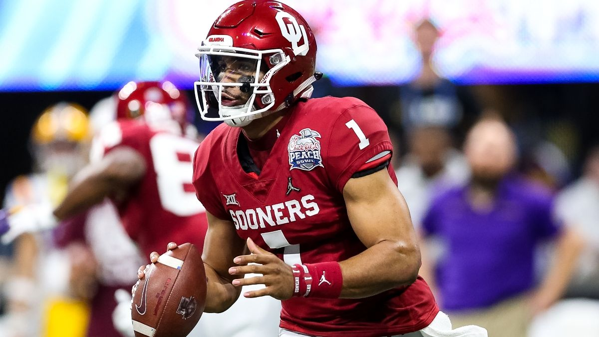 Bettor Has $10,000 Riding on Jalen Hurts, Sportsbooks Hoping He Doesn't Land in New England article feature image