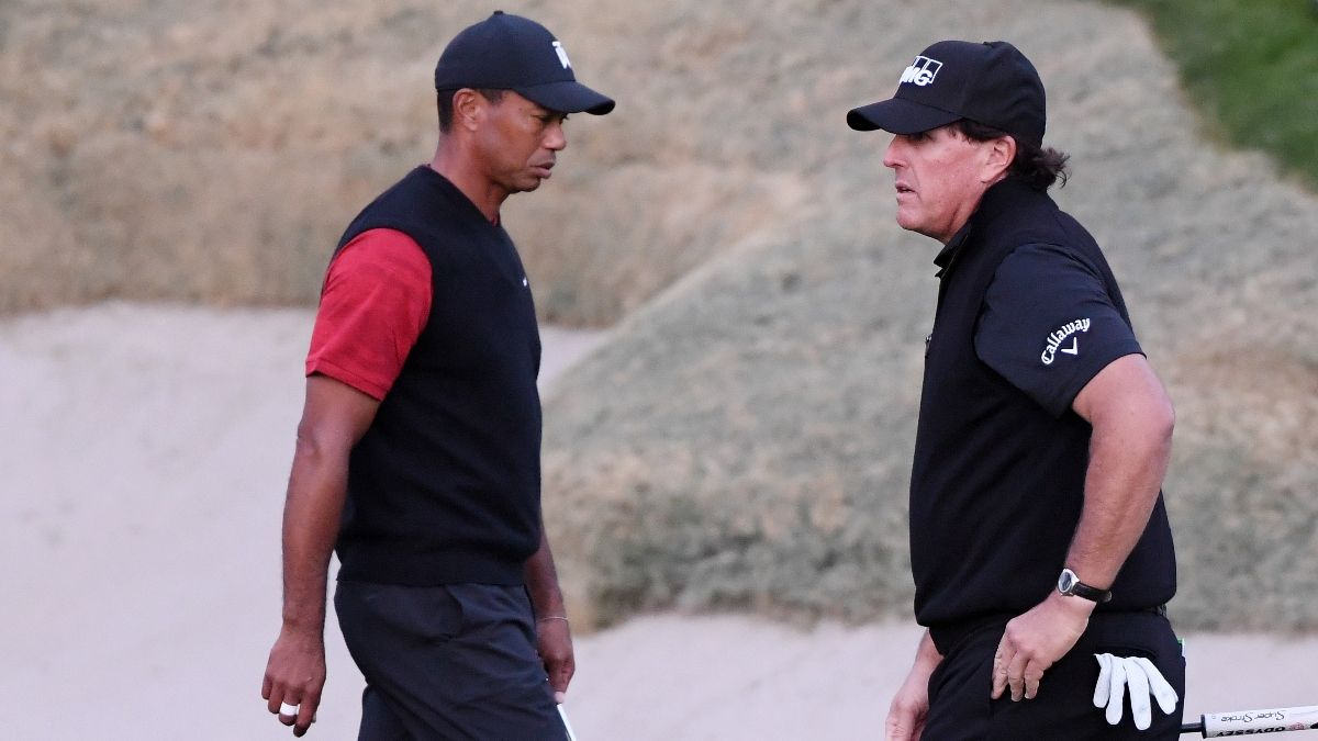 2020 Masters Choose Your Own Adventure, Tiger Woods vs. Phil Mickelson: The Bet Is On article feature image
