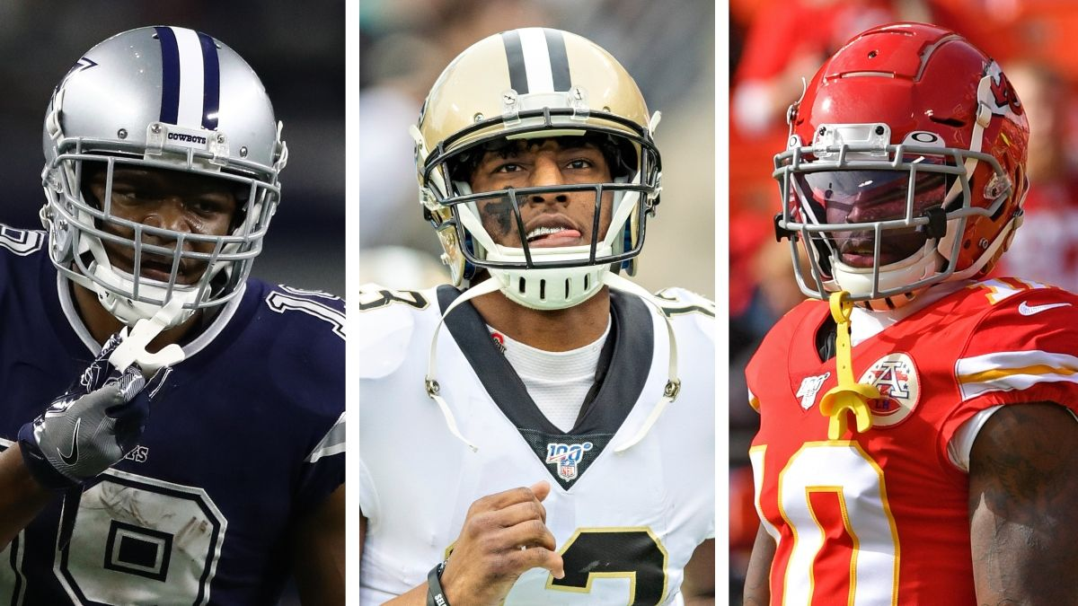 Best Ball WR Rankings: High Ceiling & High Floor Tiers To Target In Your Drafts article feature image