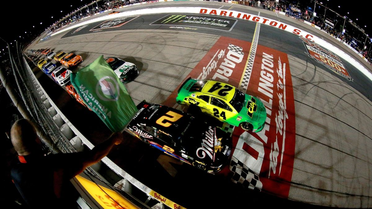 Updated NASCAR at Darlington Betting Odds: William Byron & Alex Bowman Moving Up The Real Heroes 400 Odds Board article feature image