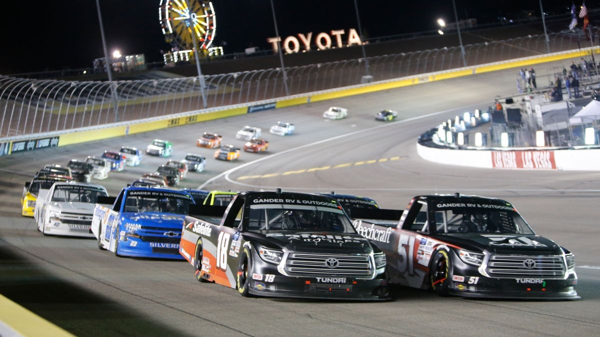 NASCAR Truck Series NC Education Lottery 200 at Charlotte Odds, Betting Pick: Target This Driver Matchup on Tuesday Night article feature image