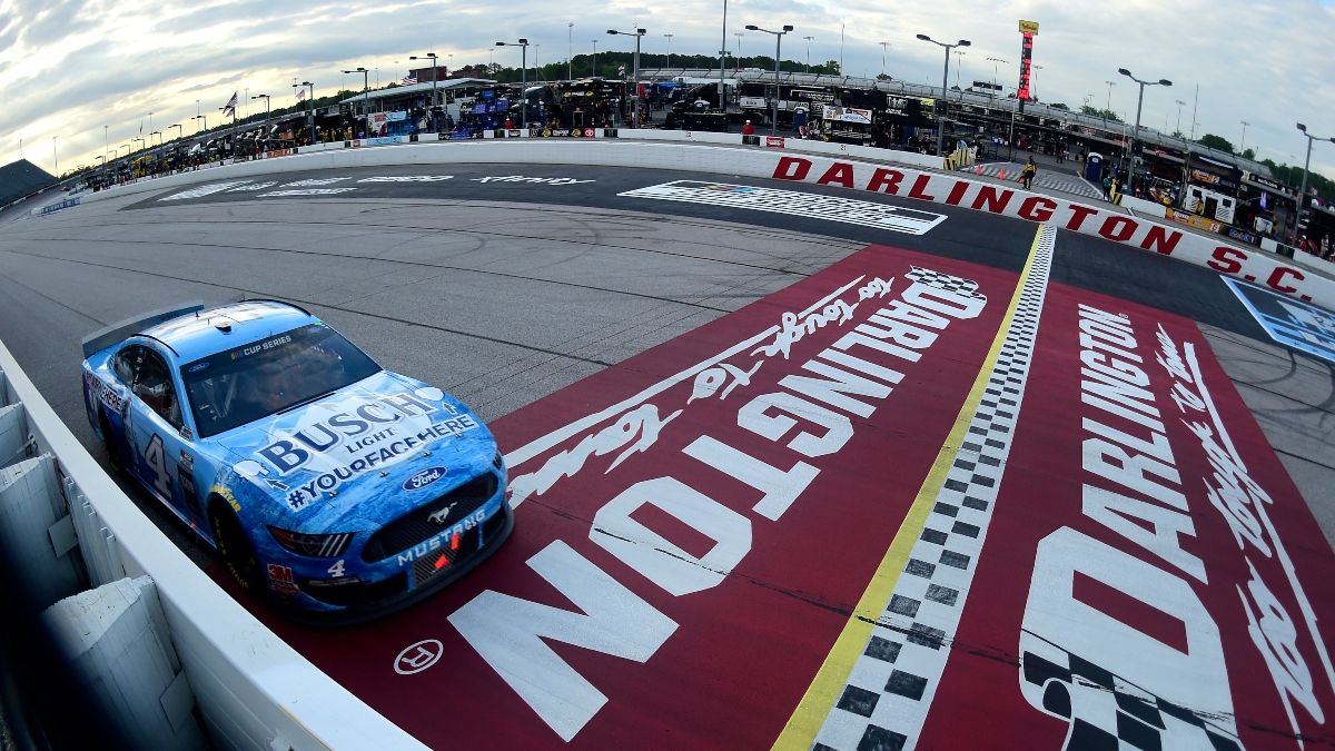 NASCAR Toyota 500 at Darlington Odds & Best Bets: 3 Picks for Wednesday Night's Race article feature image