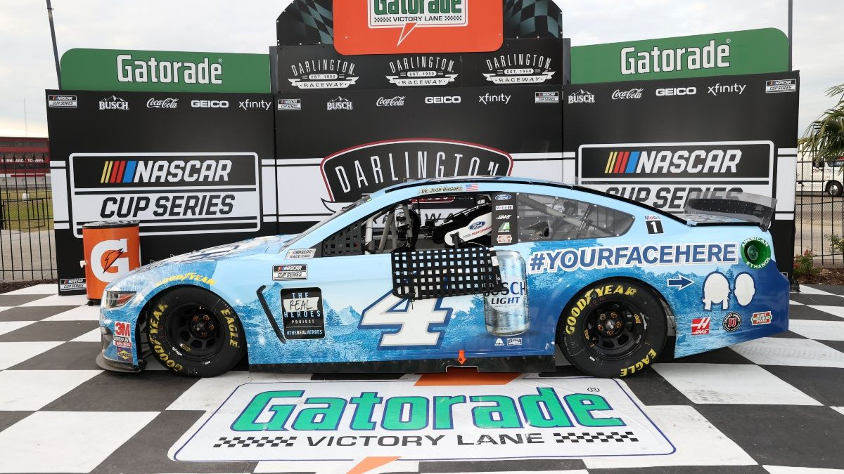 Updated NASCAR Toyota 500 at Darlington Odds: Harvick Favored to Win Second Straight Race on Wednesday Night article feature image