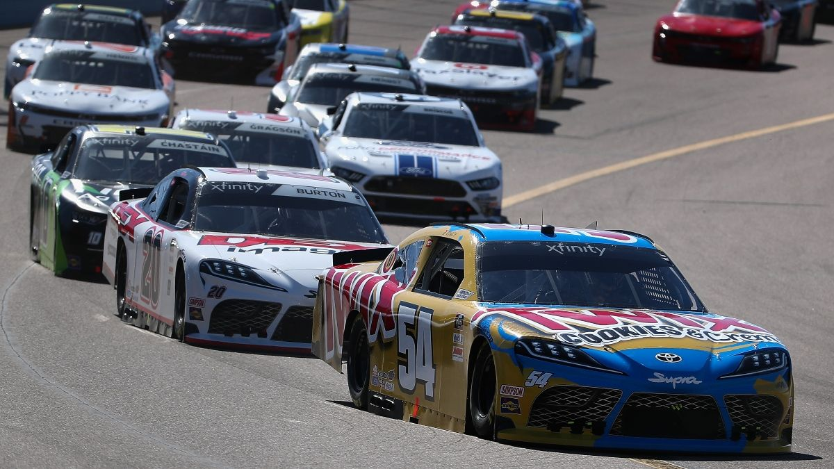 Updated NASCAR XFINITY at Darlington Odds: Kyle Busch Favored for Thursday's Rescheduled Race article feature image
