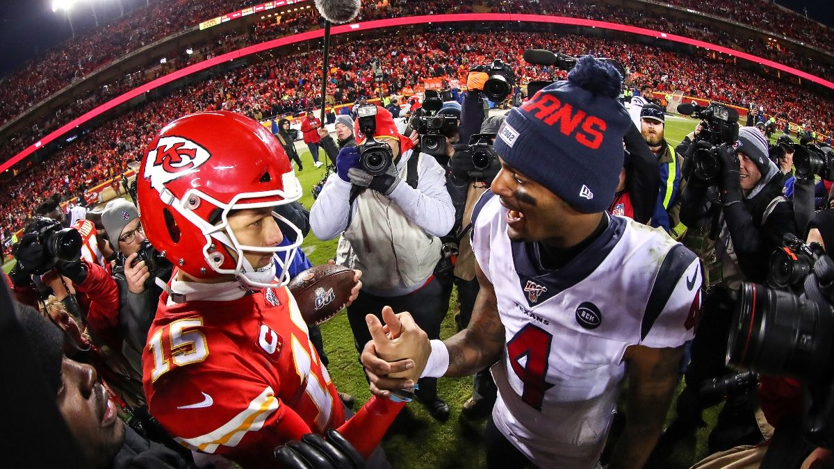 Week 1 NFL Odds: Spreads & Over/Unders For Every Team's 2020 Season Opener article feature image