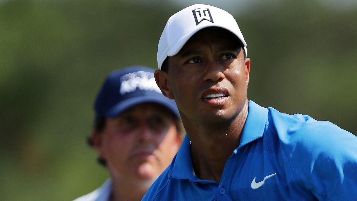 Tiger vs. Phil Props: Full List of Bets for The Match Featuring Peyton Manning & Tom Brady article feature image