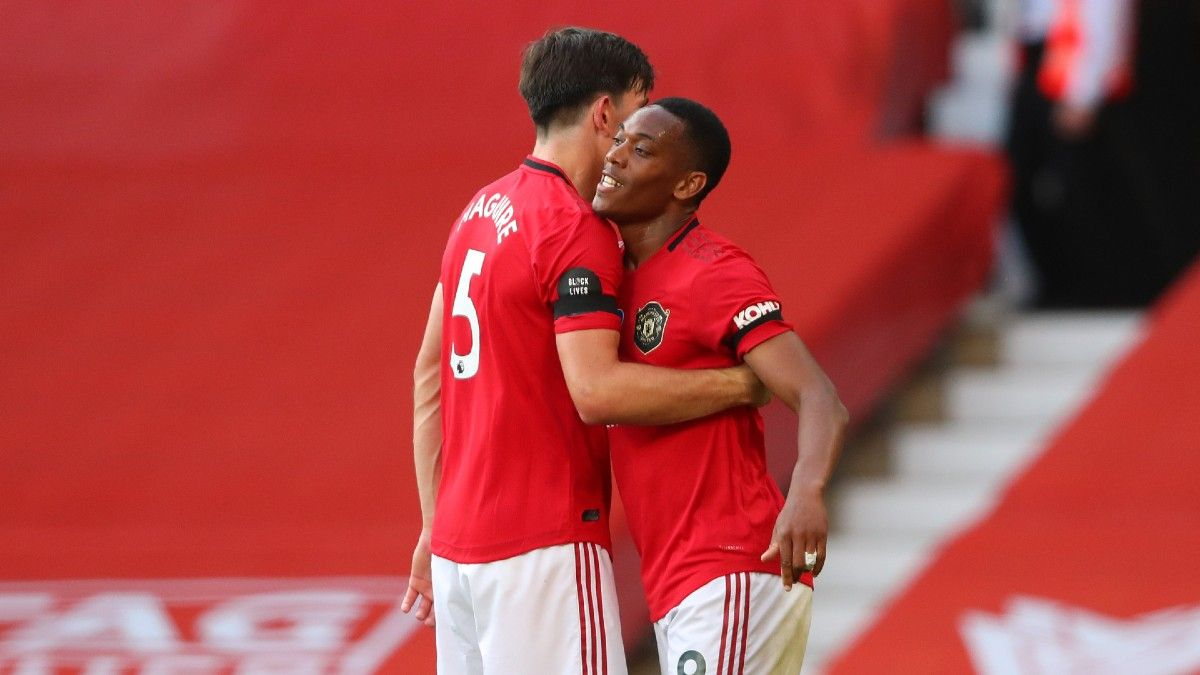 Monday English Premier League Odds, Betting Picks: Fade Overvalued Manchester United vs. Southampton (July 13) article feature image