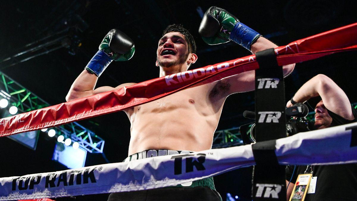 "Alex Saucedo vs. Sonny Fredrickson Boxing Odds, Picks & Prediction: Can ""El Cholo"" Close the Show? article feature image"