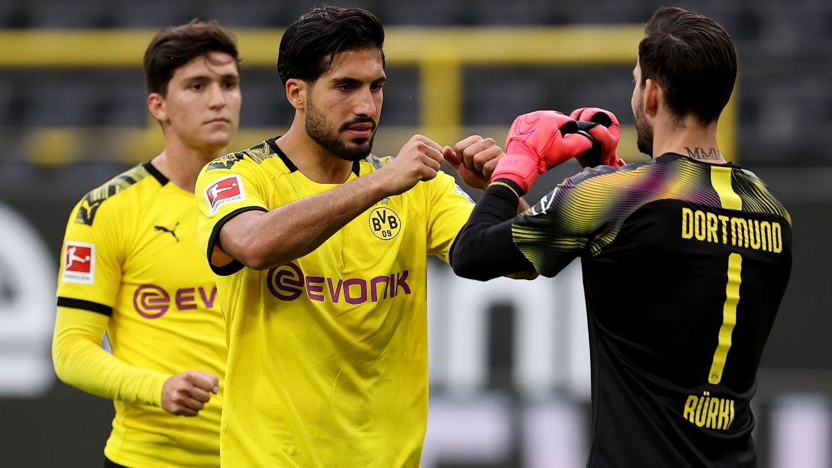 Updated Bundesliga Betting Odds: Borussia Dortmund vs. Fortuna Dusseldorf Picks and Predictions (Saturday, June 13) article feature image
