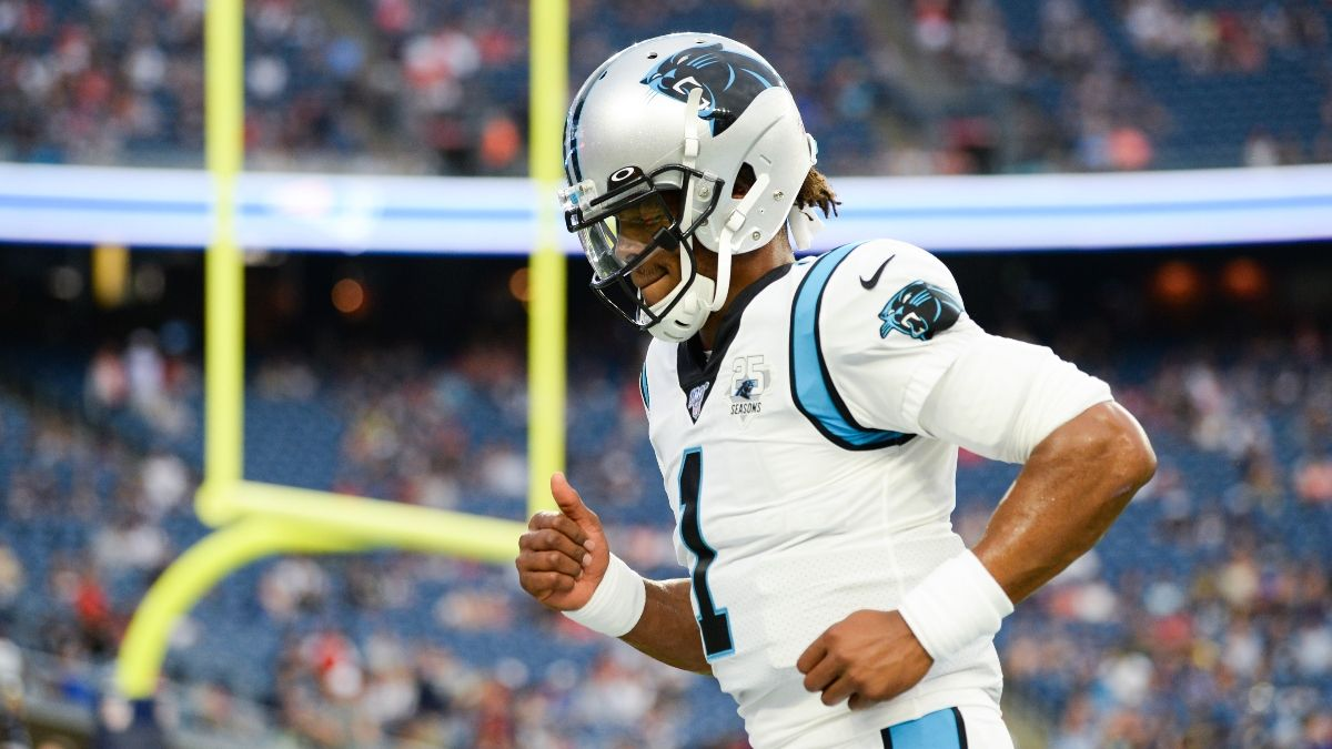 Updated 2020 Patriots Odds: How Cam Newton Signing Is Affecting New England's Super Bowl Chances article feature image