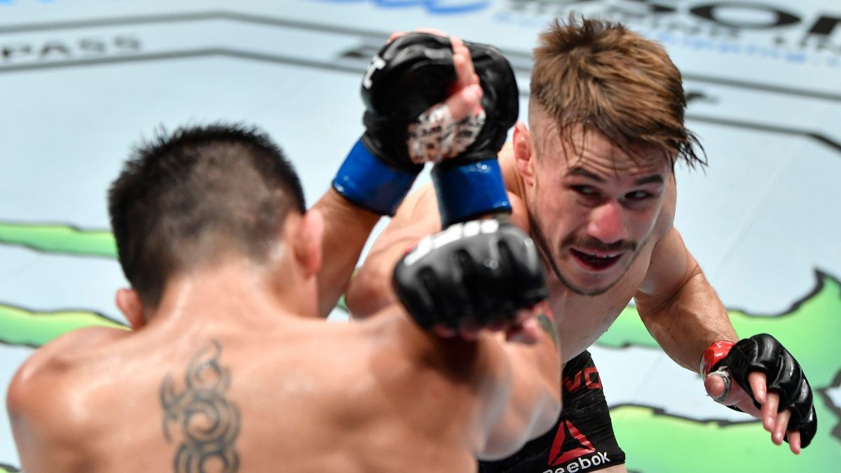 UFC 254 at Fight Island Odds & Pick Prediction: Nathaniel Wood Undervalued Against Casey Kenney (Saturday, Oct. 24) article feature image