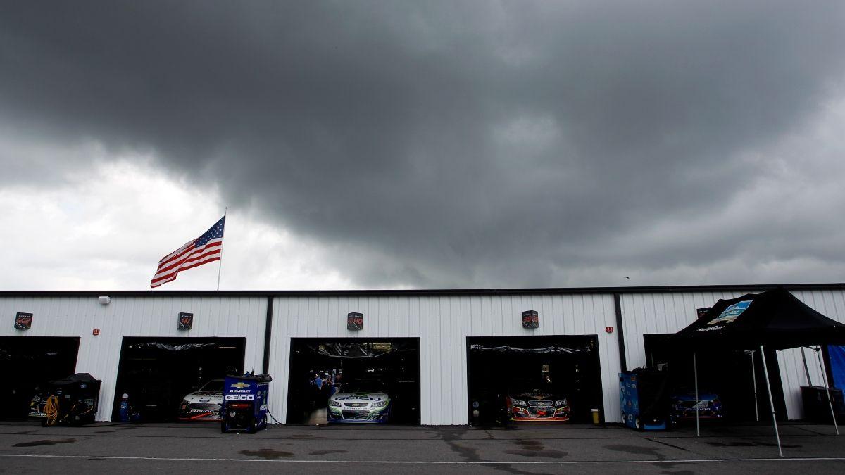 NASCAR Pocono 350 Weather Forecast: Will Rain Delay Sunday's Cup Race at Pocono? article feature image