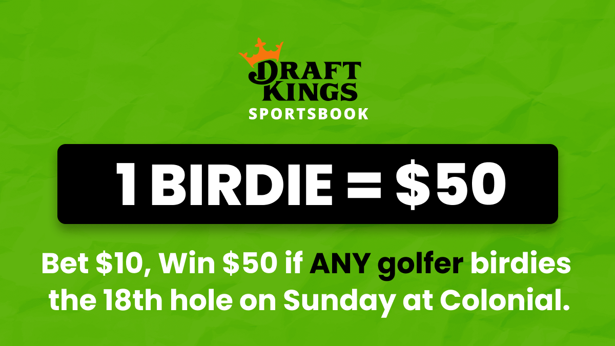Win $50 if Anyone Birdies the 18th Hole on Sunday at Colonial! article feature image