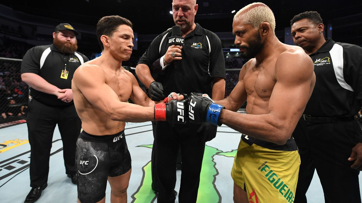 Updated UFC Fight Night Betting Odds: Deiveson Figueiredo Favored in Title Fight Rematch vs. Joseph Benavidez article feature image