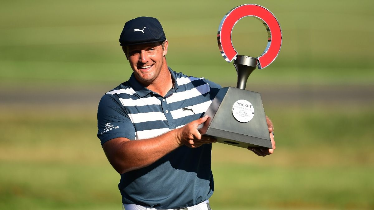 Sobel: Bryson DeChambeau Ushers in Golf's Moneyball Era With Rocket Mortgage Classic Victory article feature image