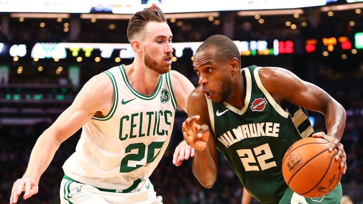 NBA Sharp Action: Betting Picks for Celtics vs. Bucks, Kings vs. Spurs (Friday, July 31) article feature image