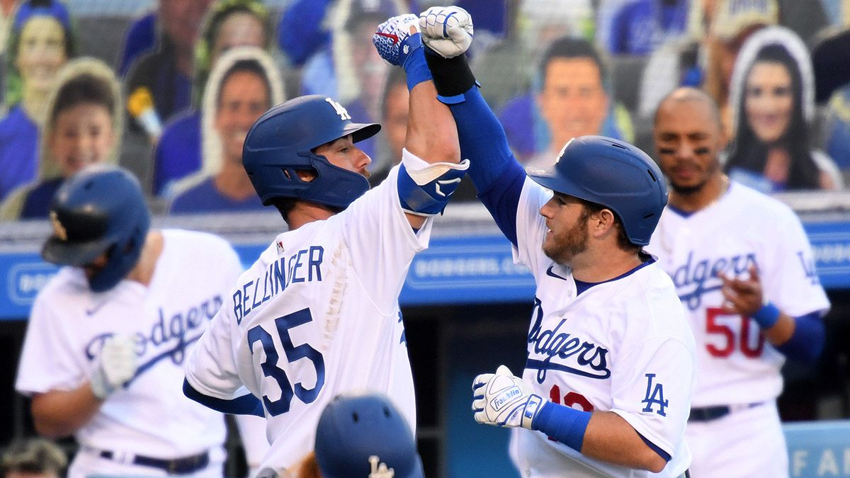 MLB Sunday Odds & Promotions: Bet $20, Win $100 if the Dodgers Get a Hit vs. Giants on Sunday! article feature image