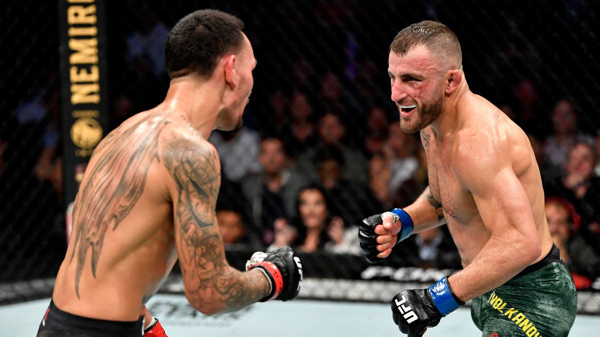 Alexander Volkanovski vs. Max Holloway Odds, Pick & Prediction: Finding Betting Value In This Featherweight Title Fight article feature image