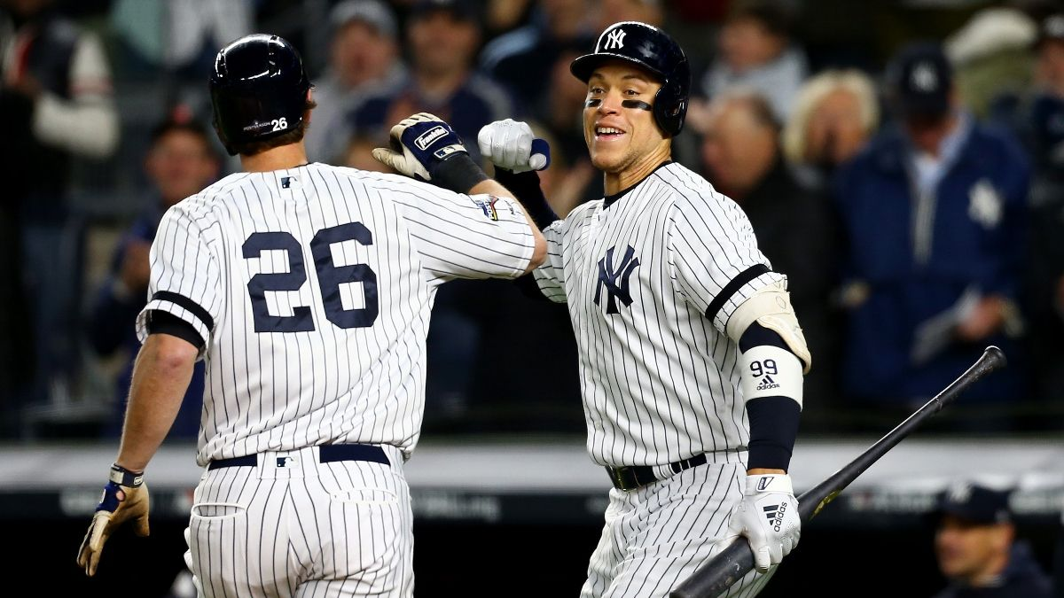 New York Yankees Sportsbook Promo: Bet $20, Win $125 if the Yankees Get at Least 1 Hit! article feature image