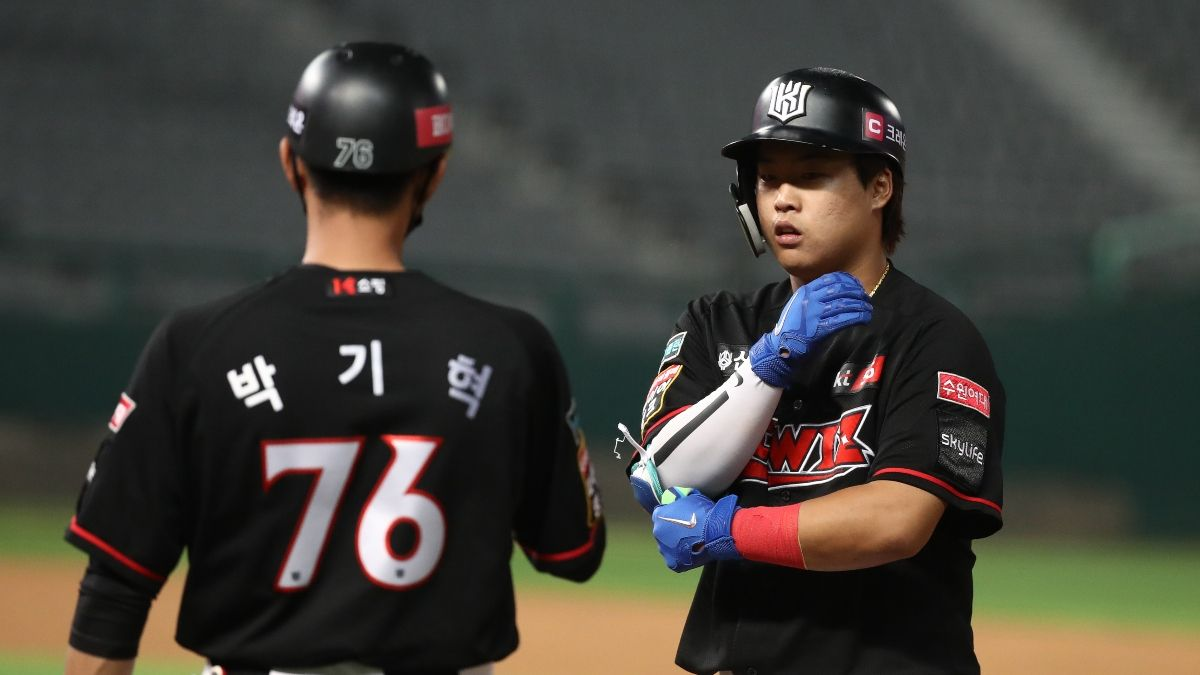 KBO & NPB Betting Odds: Picks & Predictions For Saturday, Including Heroes vs. Wiz article feature image