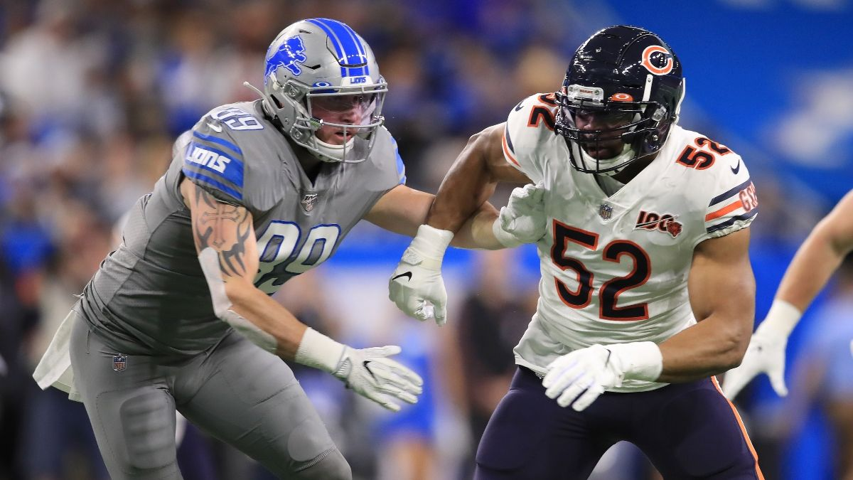 Bears vs. Lions Odds, Betting Pick: Target Chicago Moneyline in NFL Week 1 Matchup With Detroit article feature image