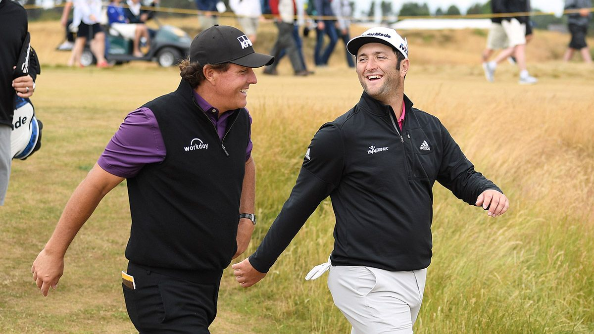 The Time Phil Mickelson Made a Crazy Bet on Jon Rahm's Career … And Won article feature image