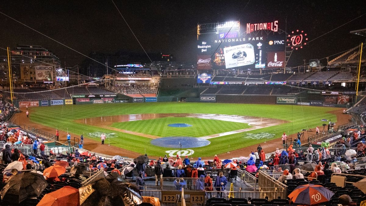 Yankees vs. Nationals Weather Forecast: Rain, Storms Expected in Washington D.C. on Opening Night article feature image