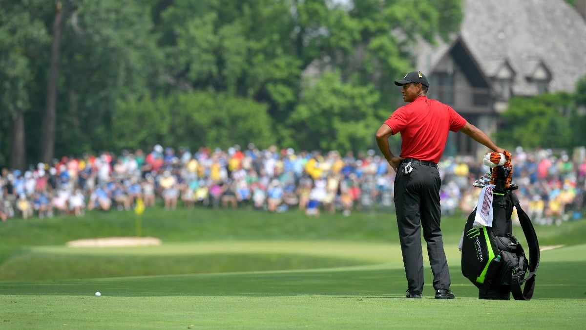 2020 Memorial Tournament Odds: Justin Thomas and Bryson DeChambeau Favorites; Tiger Woods Opens at 25-1 article feature image