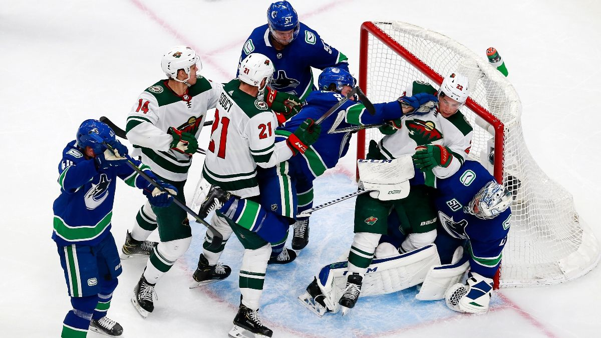 NHL Odds, Picks and Predictions: Bet on the Minnesota Wild to Go Up 2-0 vs. Vancouver Canucks (Tuesday, Aug. 4) article feature image