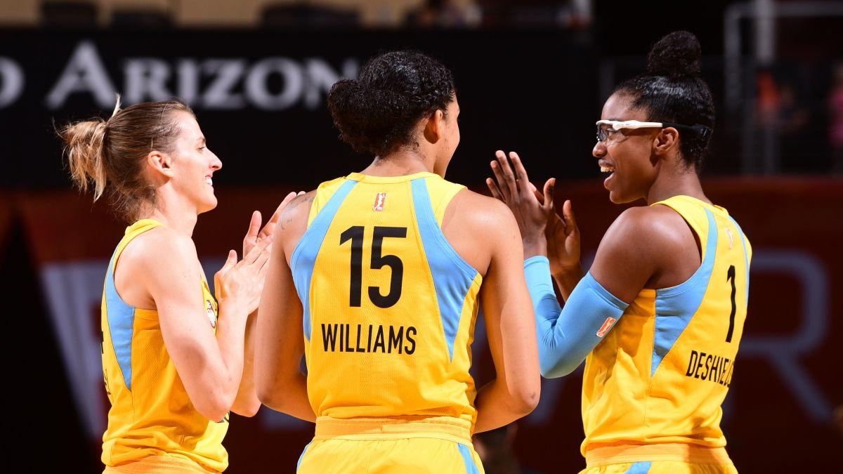 WNBA Championship Picks: Why The Storm & Sky Are Our Favorite Title Bets article feature image