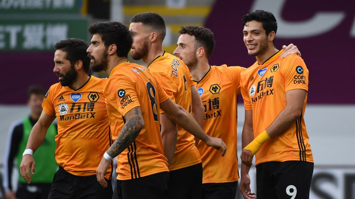 Monday Premier League Betting Odds, Picks and Predictions: Wolverhampton vs. Crystal Palace (July 20) article feature image