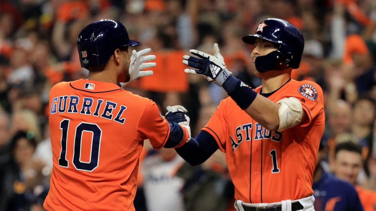Astros vs. Diamondbacks Odds & Pick: Bet On Another High-Scoring Affair Thursday Night article feature image